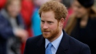 "FILE - In this file photo dated Friday, Dec. 25, 2015, Britain's Prince Harry arrives to attend the family traditional Christmas Day church service, at St. Mary Magdalene Church in Sandringham, England. During a TV interview on ""Good Morning America"" Friday March 18, 2016, Prince Harry has told a TV interviewer he hopes his late mother Diana Princess of Wales would be proud of the work her two sons are doing, and said the loss of his mother when he was 12 had shaped his life. (AP Photo/Matt Dunham, FILE)"