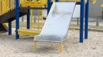 Child left at playground