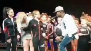 Calgary girl with brain cancer dances with singer