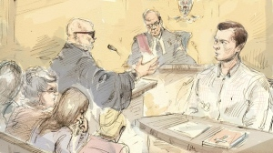 Mark Smich will continue his testimony at the Bosma murder trial. (Alexandra Newbould)
