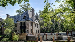 The Obamas are reportedly moving into this 8,200-square-foot-mansion after they leave the White House in January. (Washington Fine Properties)