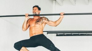 Cameron Shayne, founder of Budokon Yoga, believes the practice serves athletes well as it develops strength and muscular development, as well as agility, speed, and stamina. © Budokon Yoga