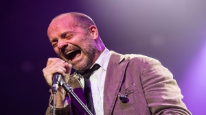 Gord Downie performs with The Tragically Hip in 2012. (Gene Schilling/The Canadian Press)