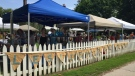 A view of the Leslieville Flea Market at the Ashbridge Estate in 2015. (The Leslieville Flea/Facebook)