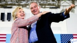 Hillary Clinton names Sen. Tim Kaine as VP