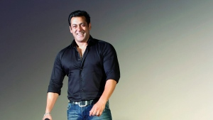 In this July 15, 2015 file photo, Indian Bollywood actor Salman Khan smiles as he attends the trailer launch of his upcoming movie 'Hero' in Mumbai, India. (AP / Rajanish Kakade, File)