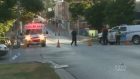 gas leak, belleville, downtown
