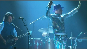 The Tragically hip plays at the ACC on August 10, 2016.