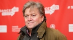Stephen Bannon during the 2013 Sundance Film Festival in Park City, Utah, on Jan. 24, 2013. (Danny Moloshok / Invision / AP)