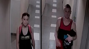Police released an image of a two suspects accused of a break and enter in June in downtown Toronto.
