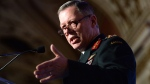 Chief of Defence Staff Jonathan Vance delivers a speech in Ottawa on Friday, Feb. 19, 2016. (Sean Kilpatrick / THE CANADIAN PRESS)