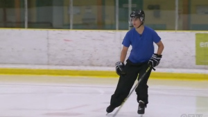 Jarrod Sokul says he is against the bodychecking ban in bantam and midget hockey categories.