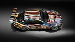 The Jeff Koons' BMW Art Car that raced at Le Mans © BMW AG