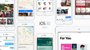 Apple's demo page for iOS 10 is shown in this image from the company's website.