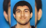 Arcan Cetin, 20, of Oak Harbor, Wash., is seen in this undated Department of Licensing photo posted by the Washington State Patrol on Twitter.