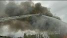 mississauga scrapyard fire