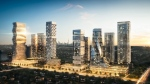 A rendering of the M City project announced for Mississauga on Sept. 27, 2016. (Kim Graham & Associates)
