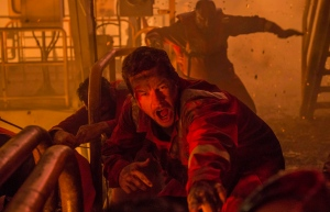 This image released by Summit shows Mark Wahlberg in a scene from 'Deepwater Horizon.' (David Lee / Summit)