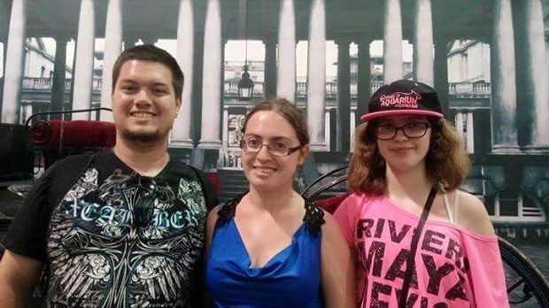 (From left to right): Brian McGinnis, 24, his girlfriend Lauren Bouchard, 22, and her 16-year-old sister Michelle Bouchard were killed in a fiery two-car crash in Brampton on Oct. 10, 2016.