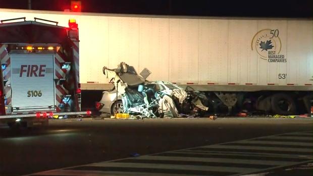 Mississauga fatal crash