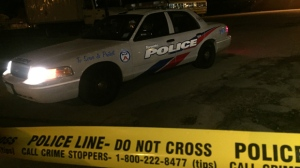 Police are investigating after shots were fired in the Lawrence Heights area on Wednesday night. (Michael Nguyen/ CP24)