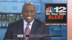 Typo causes anchor to say 'check your panties'