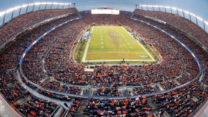 Sports Authority Field at Mile High Stadium in Denver, on Jan. 11, 2015. (Brennan Linsley / AP)