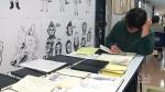 CTV Toronto: Portfolio Day for art students