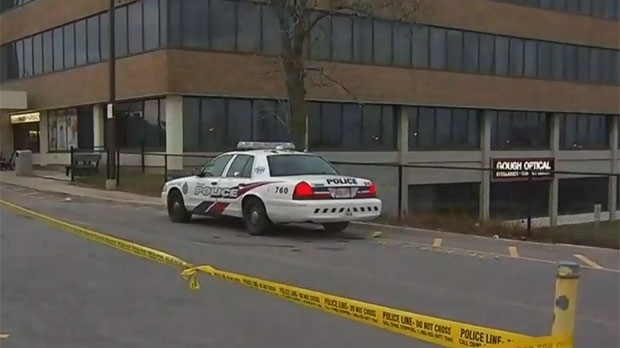 One man is dead following a stabbing in North York this morning.