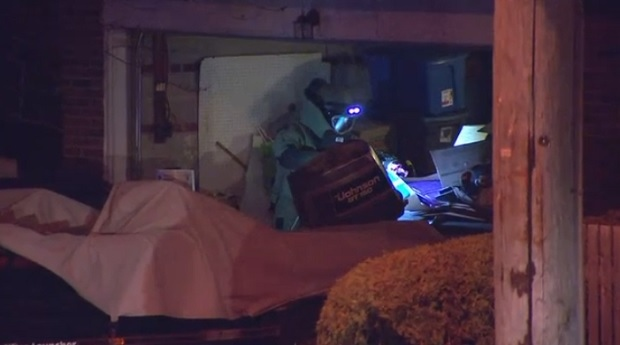 The police bomb squad was called to a home in Scarborough on Dec. 5 after a 'suspicious item' found in a garage turned out to be a pipe-bomb.