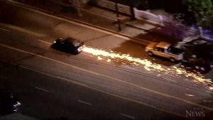Suspect leads L.A. police on high-speed chase