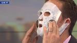 High-tech beauty mask