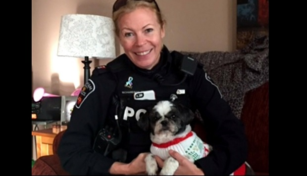 Const. Beth Richardson is seen in this undated photo.
