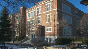 Oakwood Collegiate Institute is seen in this undated photograph.