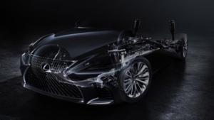2017 NAIAS - Lexus LS teaser image © Lexus