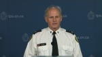 Supt. Bryce Evans is seen in this photo at a news conference at Toronto police headquarters on Jan. 23, 2017.