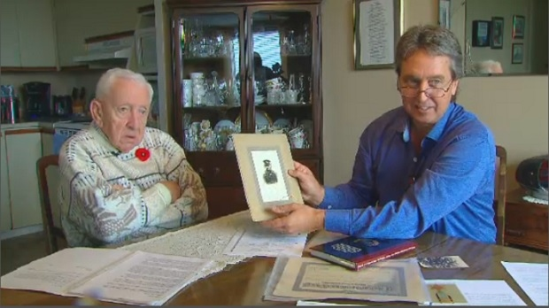 Don and Bill Haber remember Pte. McKinnon