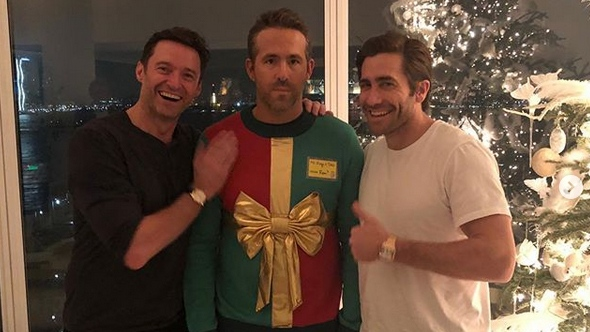 Ryan Reynolds' Christmas Sweater Returns for a Great Cause