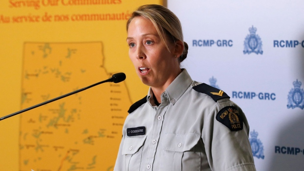 RCMP Cpl. Julie Courchaine