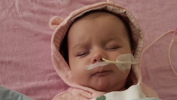 Family Races To Raise 2 8m To Treat Two Month Old Baby With Rare Muscular Disease Ctv News