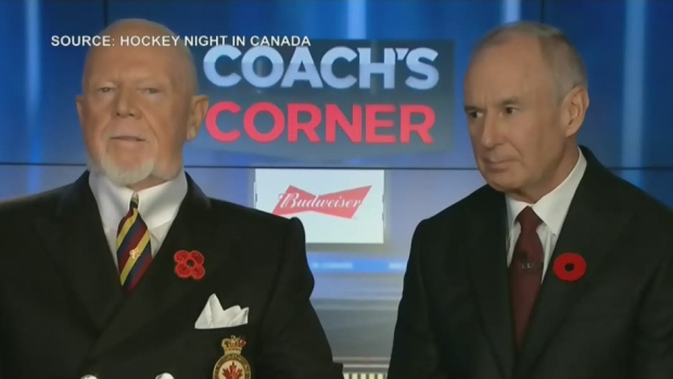 Don Cherry facing backlash for comments