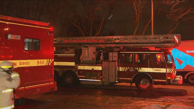 One person dead after fire at Toronto highrise apartment building