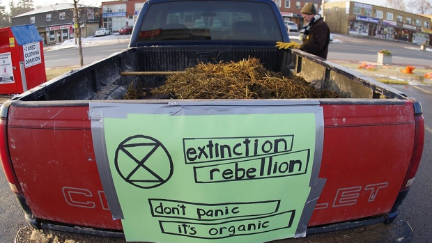 Extinction Rebellion, manure