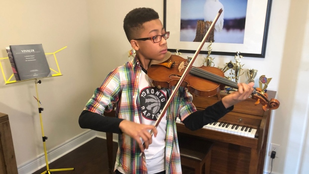 Meet The 13 Year Old Violinist From Ontario Who Will Perform At Carnegie Hall Ctv News