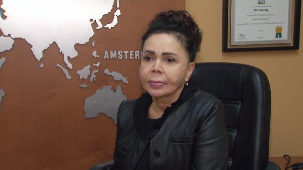 Toronto flight agent Giti Mohtady