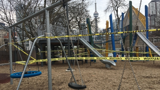 playground, COVID-19, closure