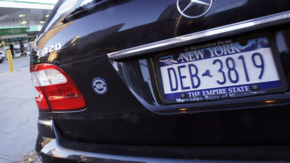 New York Licence Plate