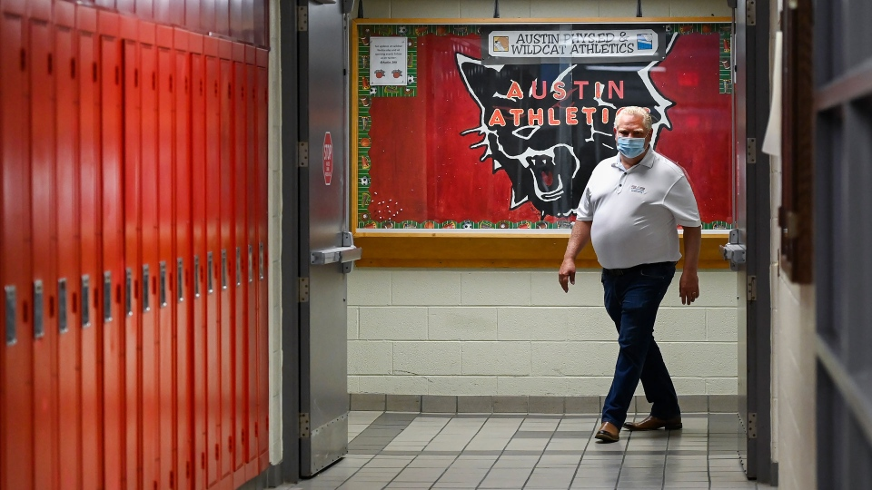 Ford says his back-to-school plan is the best in Canada