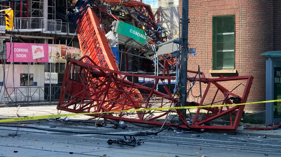 Toronto crane collapse