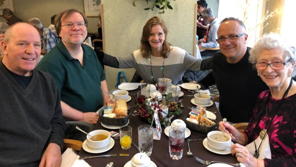 Mary Goldman's family